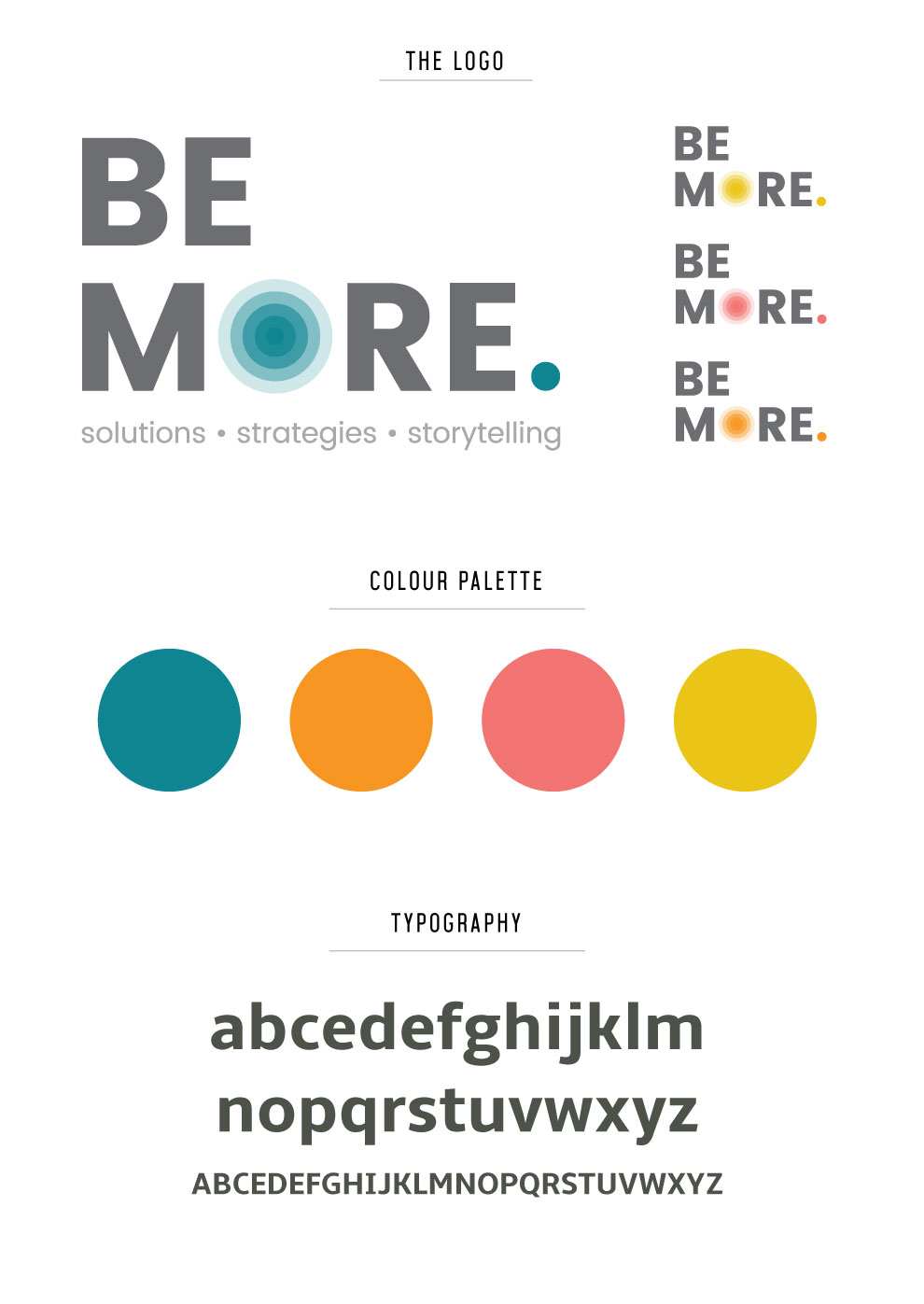 Be More Communication Logo